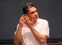 Robert Pinsky lecturing at Boston University, 2001