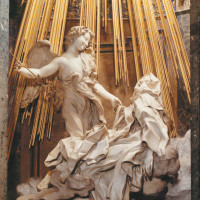 Gian Lorenzo Bernini: <i>The Ecstasy of Saint Teresa</i>, 1647–1652