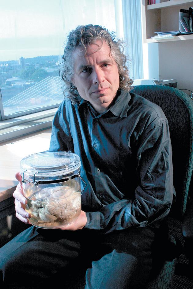 Steven Pinker, Boston, Massachusetts, October 2005