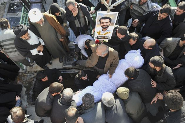 Ahmadi Roshan funeral.jpg