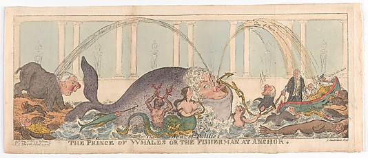 George Cruikshank: The Prince of Whales.jpg