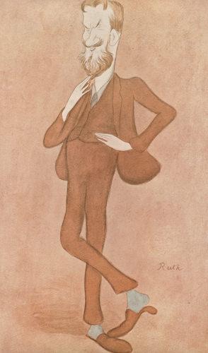 Max Beerbohm: George Bernard Shaw.jpg
