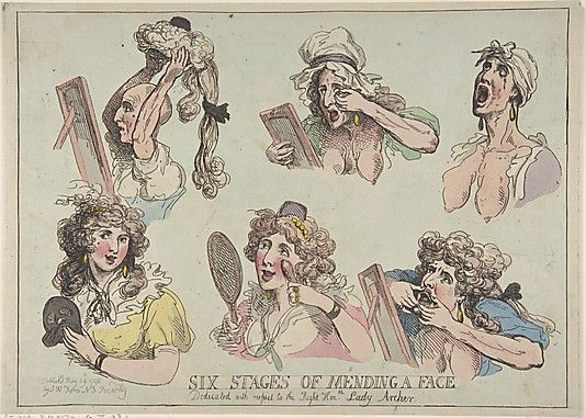 Thomas Rowlandson: Six Stages of Mending a Face.jpg