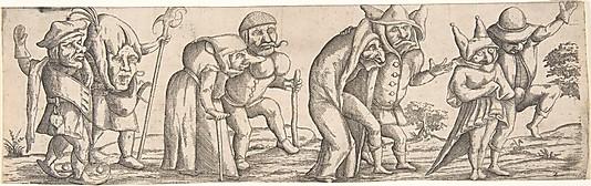 Wendel Dietterlin: Procession of Monstrous Figures.jpg