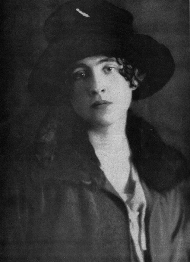 Violet Trefusis on her wedding day, June 16, 1919