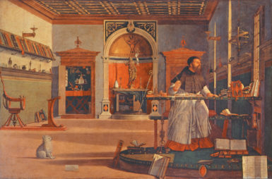 Vittore Carpaccio: Saint Augustine in His Study, circa 1502