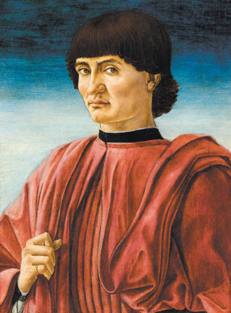 Andrea del Castagno: Portrait of a Man, circa 1450–1457