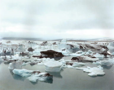 Icebergs in Iceland's Jökulsárlón lagoon, which is constantly growing as the Vatnajökull glacier—Europe's largest—melts; photograph by Olaf Otto Becker from his book Under the Nordic Light: A Journey Through Time, Iceland, 1999–2011, which has just been published by Hatje Cantz