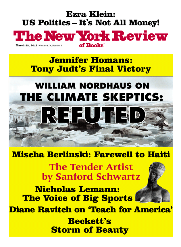 Image of the March 22, 2012 issue cover.