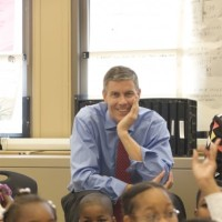 US Secretary of Education Arne Duncan
