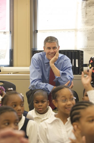 US Secretary of Education Arne Duncan