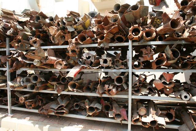 Casings of Qassam rockets found in Sderot, Israel