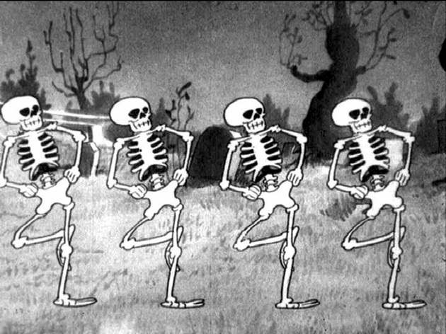A still from The Skeleton Dance (1929)
