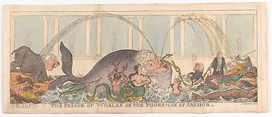 George Cruikshank: The Prince of Whales.jpg