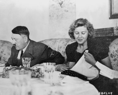 Adolf Hitler and Eva Braun, Berlin, 1940s