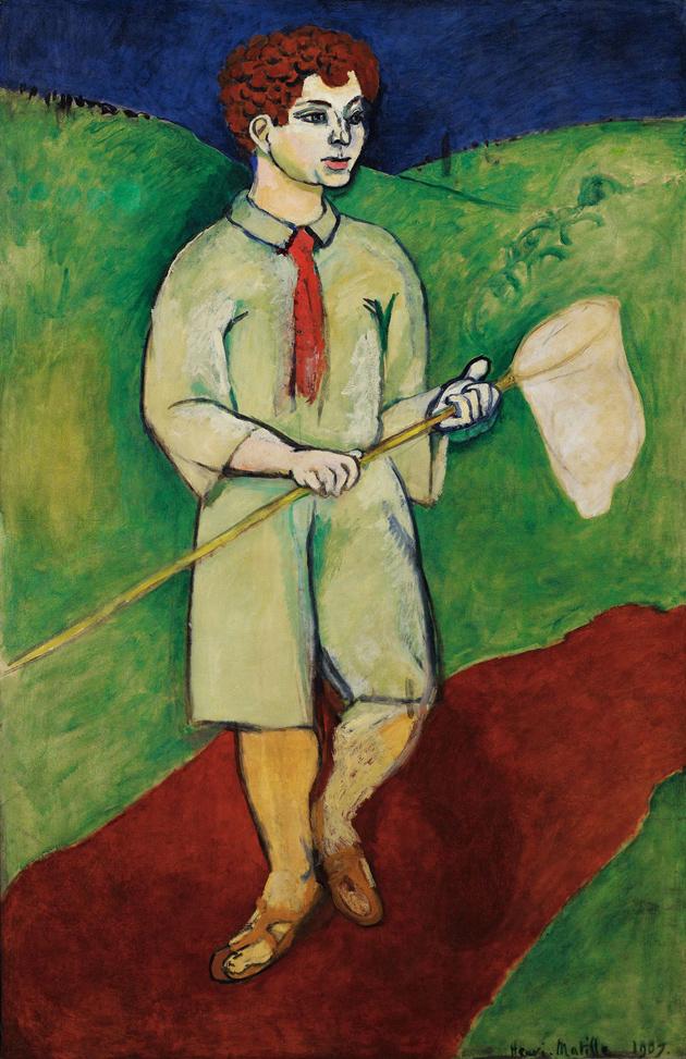 henri matisse the green line essay