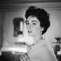 Elizabeth Taylor, 1954; photograph by Cecil Beaton