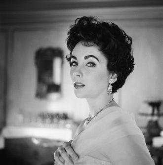 Elizabeth Taylor, 1954; photograph by Cecil Beaton