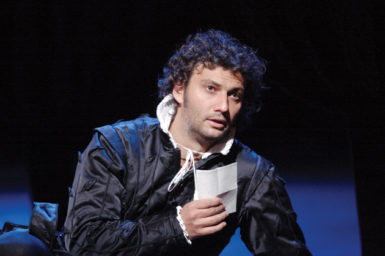 Jonas Kaufmann in the title role of Verdi's Don Carlo at the Royal Opera House, Covent Garden, London, September 2009. He will sing five performances of the role there in May 2012.