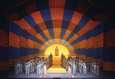 The Metropolitan Opera's 1991 production of The Magic Flute, with sets by David Hockney