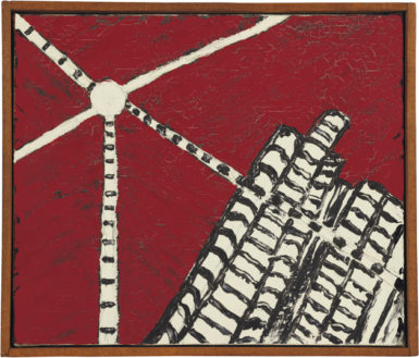 Forrest Bess: Untitled, 10 7/8 x 12 7/8 inches, 1960