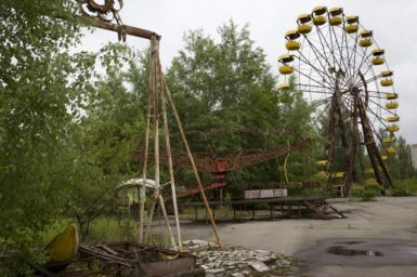 Pripyat, the abandoned city in the