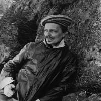 August Strindberg on the Swedish island of Värmdö, near Stockholm, summer 1891