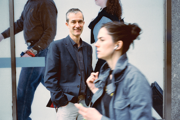 Geoff Dyer, New York City, 2006