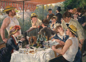 Pierre-Auguste Renoir: Luncheon of the Boating Party, 1880–1881