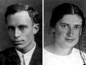 Lev Mishchenko and Svetlana Ivanova, 1936