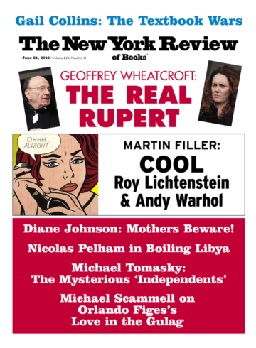 Image of the June 21, 2012 issue cover.