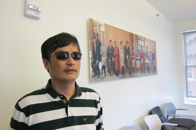 Chen Guangcheng at New York University, June 20, 2012