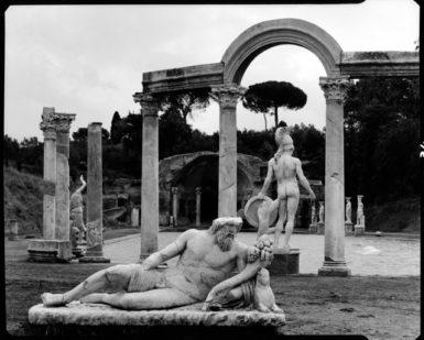 Hadrian's Villa, 1959