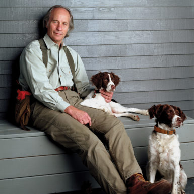 Richard Ford at his house in East Boothbay, Maine, 2006
