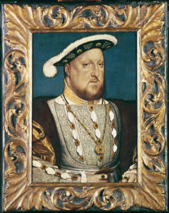King Henry VIII of England; sixteenth-century portrait by Hans Holbein the Younger