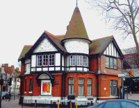The 1894 Willesden Library in the Willesden district of London, 2006