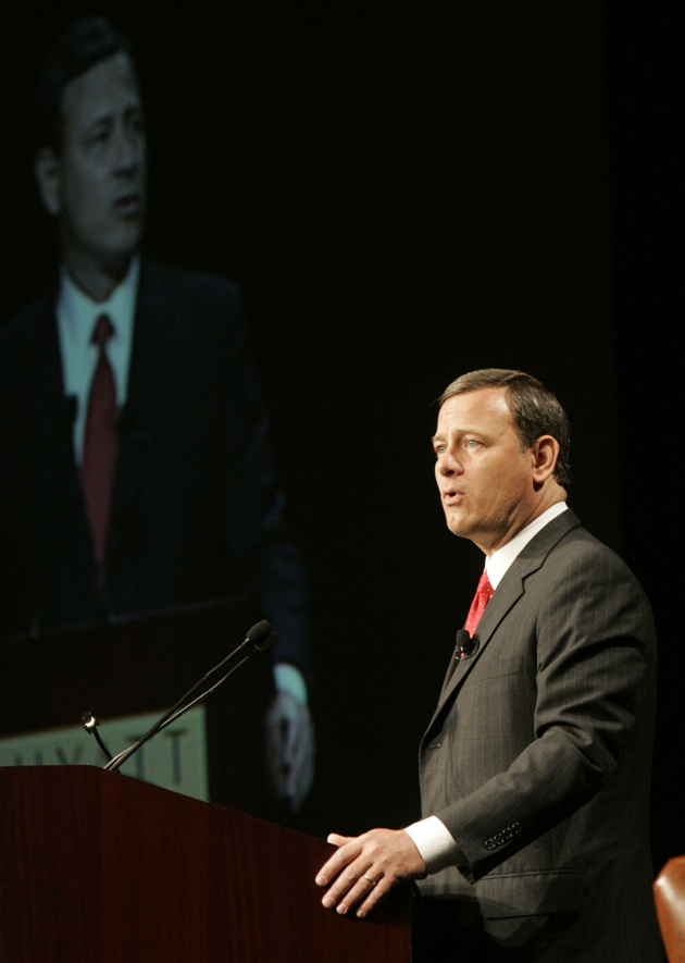 US Supreme Court Chief Justice John Roberts, July 13, 2006