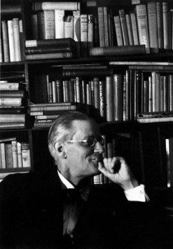 James Joyce at Shakespeare and Company, Paris, 1938