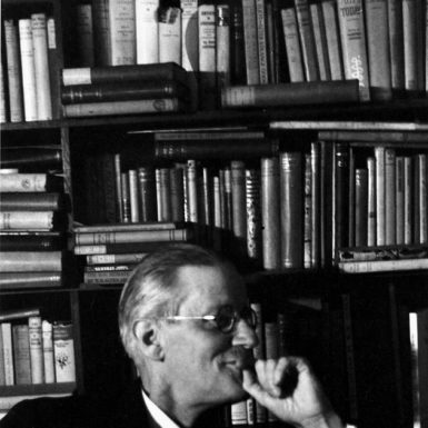 James Joyce at Shakespeare and Company, Paris, 1938