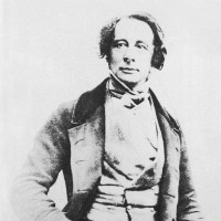 Charles Dickens in 1850, when he was writing David Copperfield