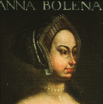 An eighteenth-century portrait of Anne Boleyn, by an unknown artist