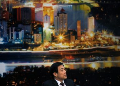 Bo Xilai during a news conference after a Chongqing delegation meeting of the National People's Congress at the Great Hall of the People in Beijing, March 6, 2010