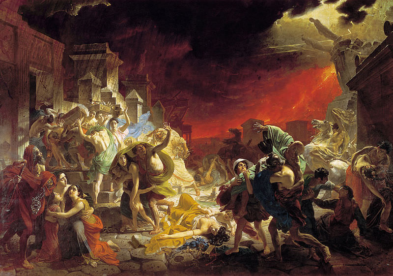 Karl Briullov: The Last Day of Pompeii, 1830-1833