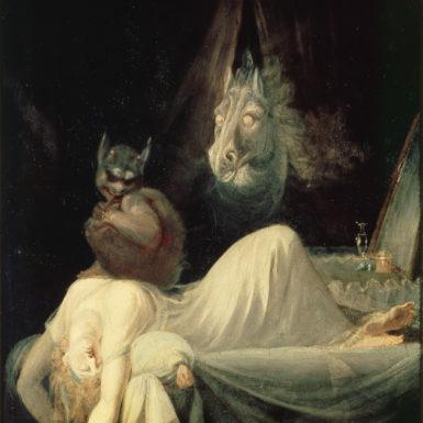 Henry Fuseli: The Nightmare, circa 1781