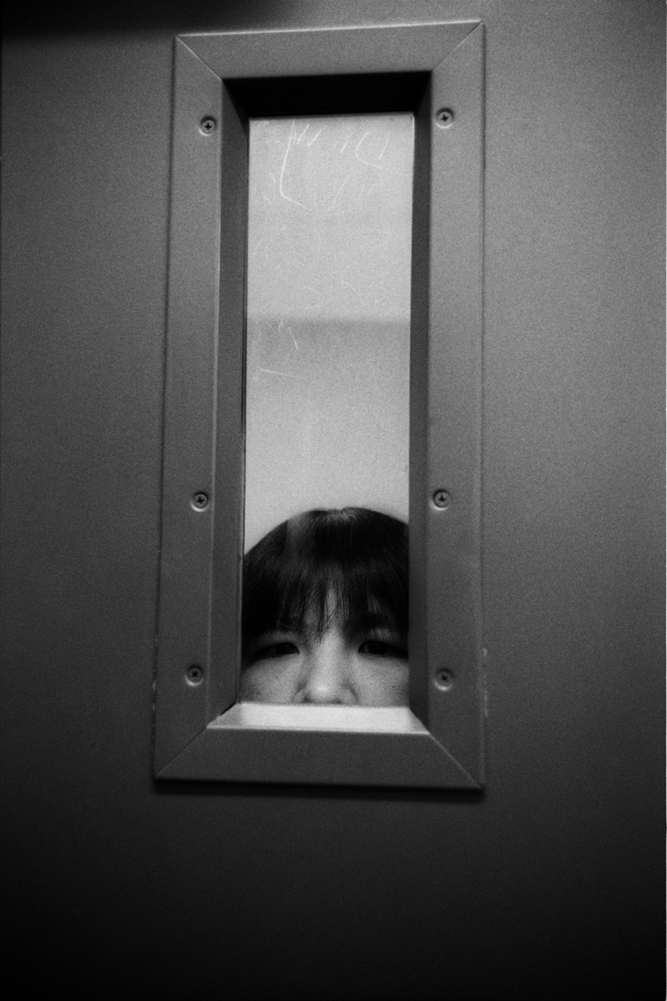 A female prisoner in solitary confinement who was allegedly sexually abused by guards, Sixth Avenue Jail Annex, Anchorage, Alaska, 1993