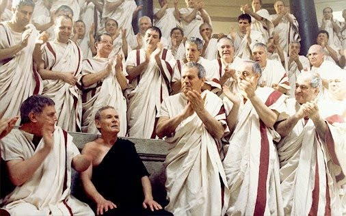 A Scene from the HBO series Rome (2005)