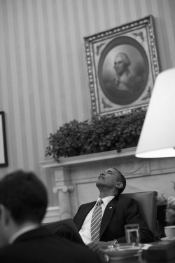 President Obama at the White House, January 2012