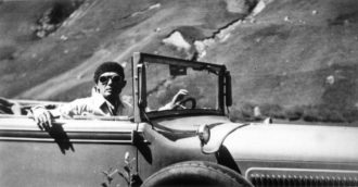 Dmitri Bystrolyotov, who was recruited by the Soviet secret services in the 1920s, on a reconnaissance mission in Bellinzona, Switzerland, circa 1934