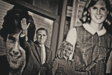 Mitt and Ann Romney at the Republican National Convention, Tampa, August 28, 2012