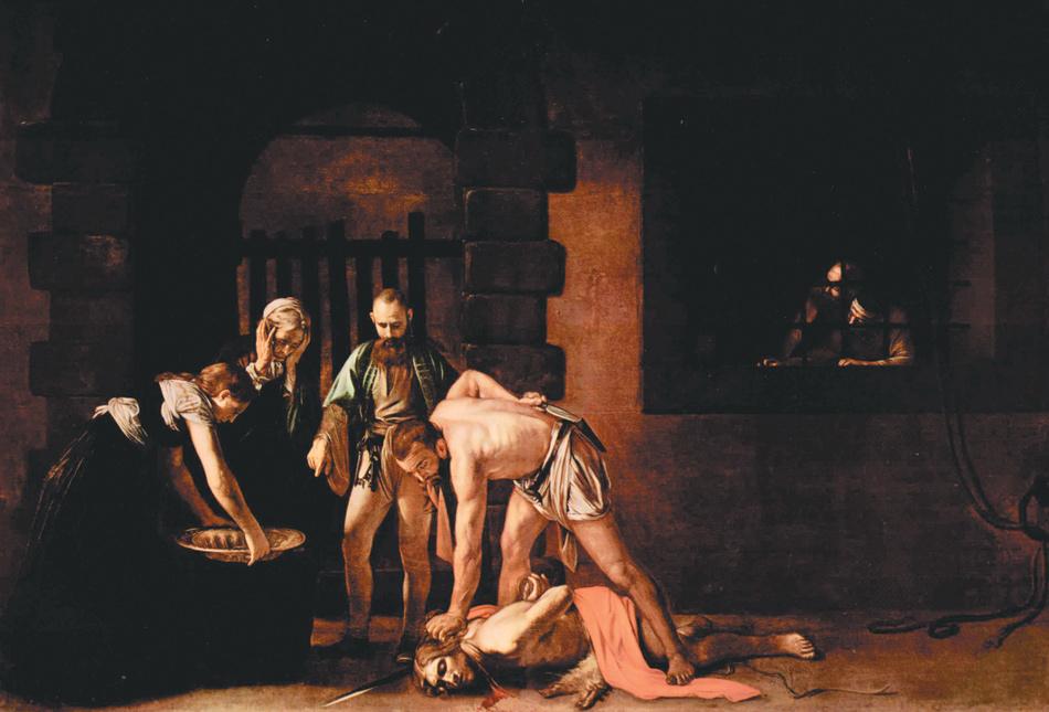 Caravaggio: The Beheading of Saint John the Baptist, 1608